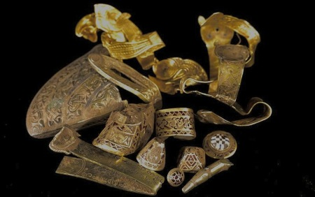 Conserving the Staffordshire Hoard
