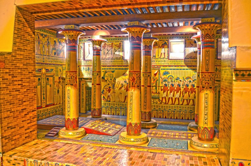 Museum plans to restore ancient egyptian throne room popular throne room model fandeluxe Choice Image