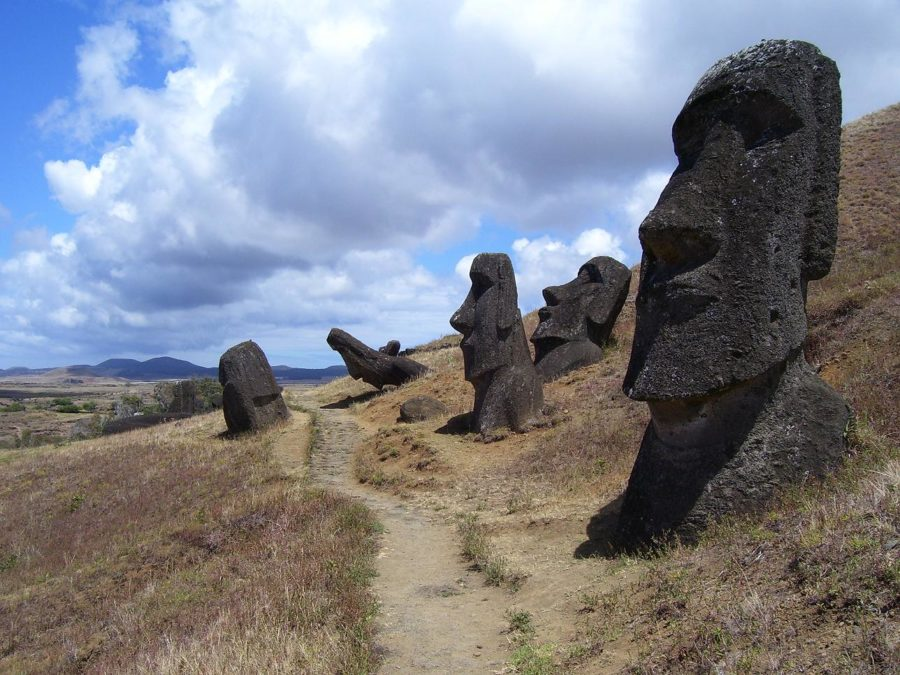 Popular Archeology - Easter Island inhabitants collected freshwater from the ocean's edge in order to survive