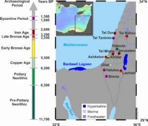 Extensive trade in fish between Egypt and Canaan already 3,500 years