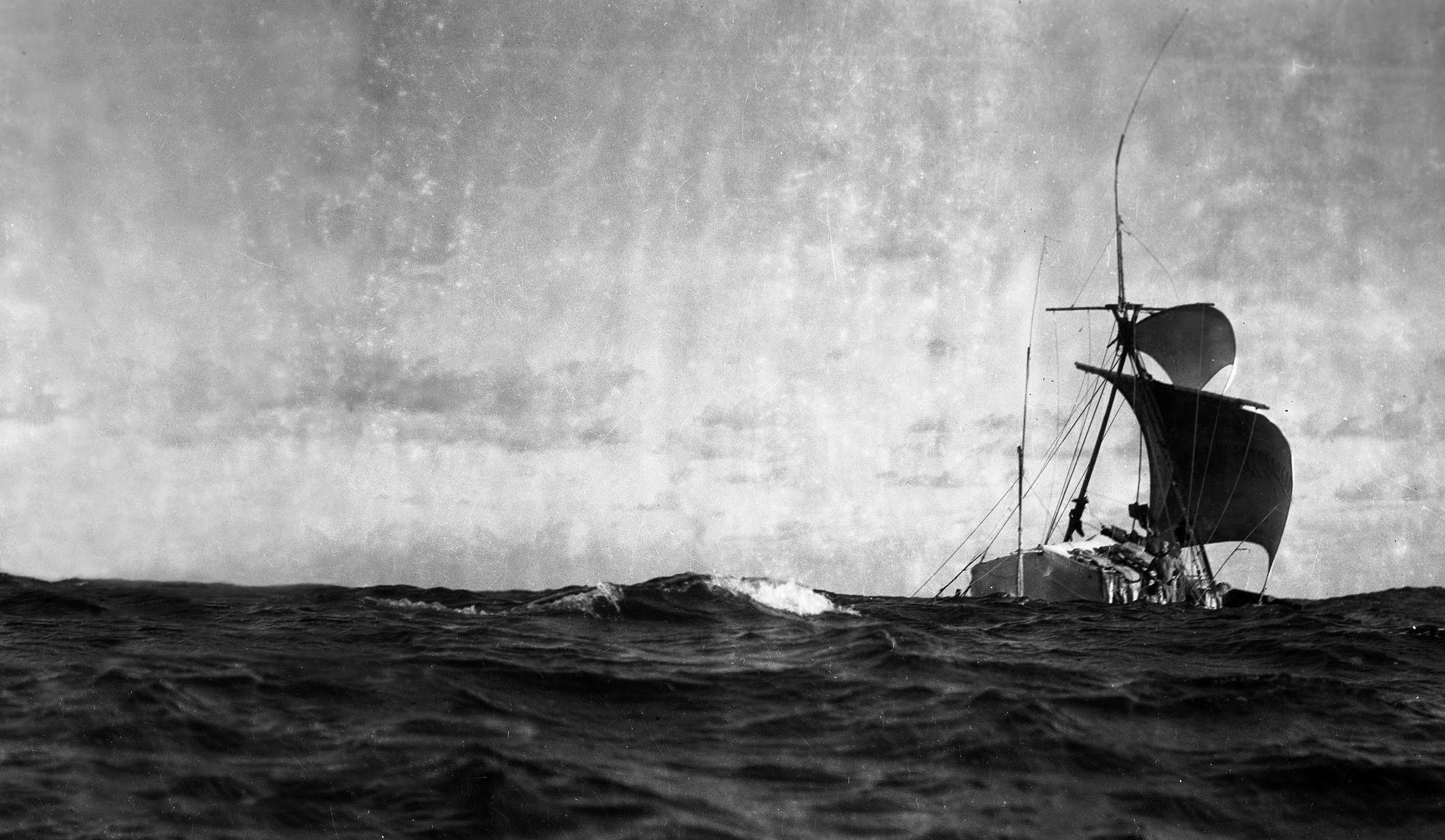 Thor Heyerdahl and the Theory of the Archaeological Raft